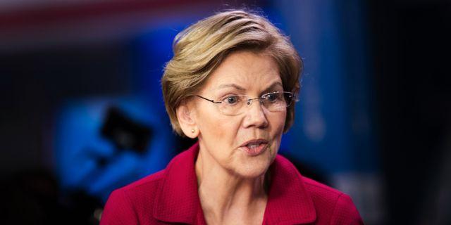 Elizabeth Warren.  Matt Rourke / TT NYHETSBYRÅN