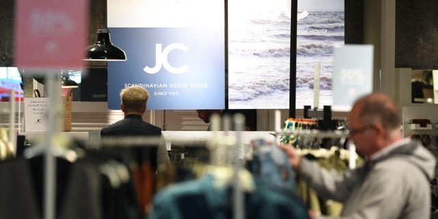 Klädkedjan JC ansöker om konkurs.  Fredrik Sandberg/TT / TT NYHETSBYRÅN