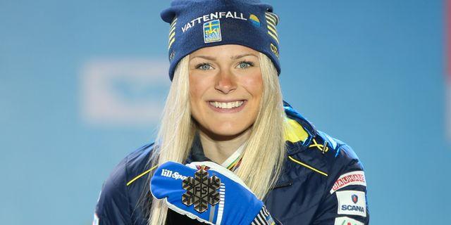 Frida Karlsson.  PHILIPP BREM / BILDBYRÅN