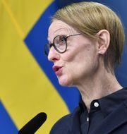 Gunilla Nordlöf, generaldirektör Tillväxtverket.  Jessica Gow/TT / TT NYHETSBYRÅN