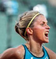 Therese Johaug sprang 10000 meter under Impossible Games ifjol.  Heiko Junge / TT NYHETSBYRÅN