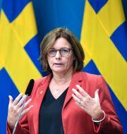 Isabella Lövin (MP). Pontus Lundahl/TT / TT NYHETSBYRÅN