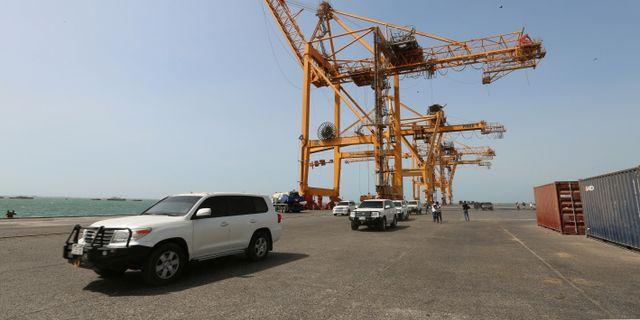 Hodeidahs hamn är Jemens viktigaste ABDULJABBAR ZEYAD / TT NYHETSBYRÅN