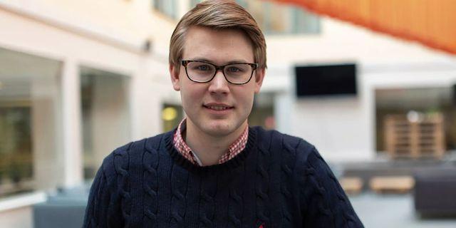 Viktor Stensson vd på bokföringsföretaget Bokio.  Pressbild