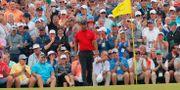 Tiger Woods på Augusta National.  BRIAN SNYDER / BILDBYRÅN