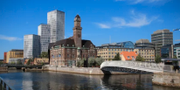 Skiss över Nyhamnen i Malmö.  Malmö stad.