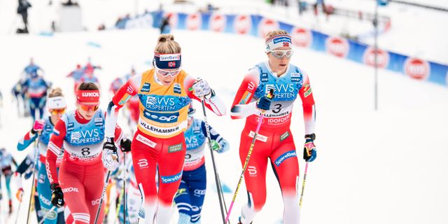 Therese Johaug. MATHIAS BERGELD / BILDBYRÅN