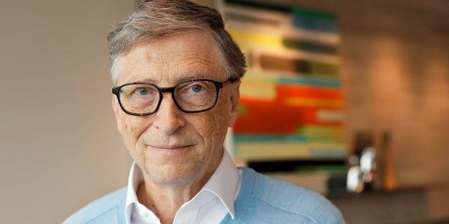 Bill Gates. Ted S. Warren / TT NYHETSBYRÅN