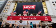 Levi's-butik i New York. Richard Drew / TT NYHETSBYRÅN/ NTB Scanpix