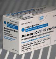 Covidvaccinet från Janssen/Johnson & Johnson. Ted S. Warren / TT NYHETSBYRÅN