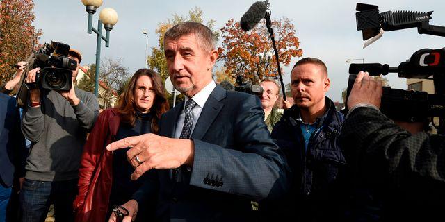 Andrej Babis MICHAL CIZEK / AFP