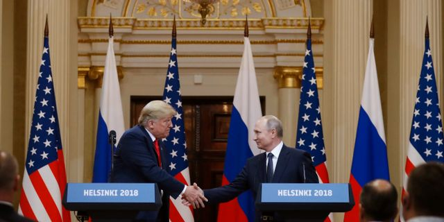 Donald Trump/Vladimir Putin. Alexander Zemlianichenko / TT / NTB Scanpix
