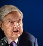 Den ungerske miljardären George Soros  FABRICE COFFRINI / AFP