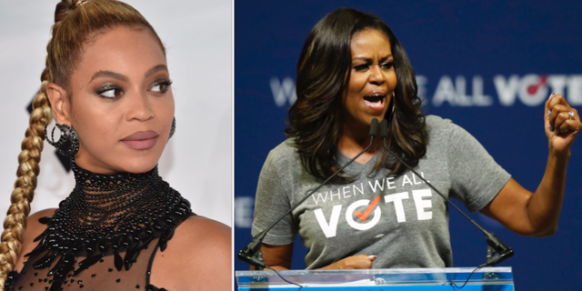 Beyoncé och Michelle Obama TT