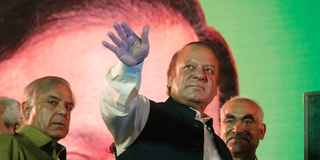 Arkivbild: Nawaz Sharif.  K.M. Chaudary / TT NYHETSBYRÅN/ NTB Scanpix