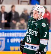 Väsbys Gabriel Österberg. JESPER ZERMAN / BILDBYRÅN