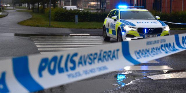 En lokal i Örebro började brinna under natten Pontus Stenberg/TT / TT NYHETSBYRÅN
