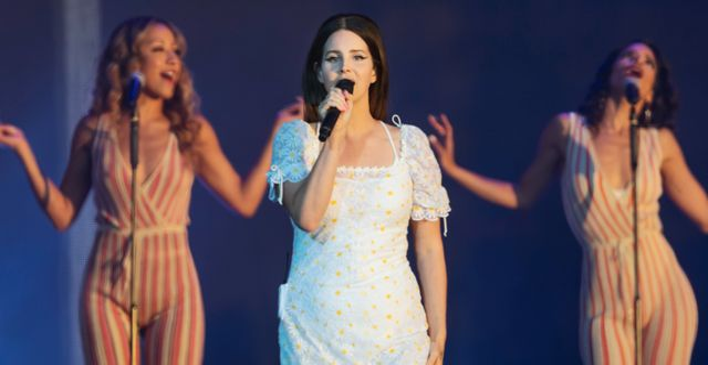Lana del Rey när hon uppträdde på Lollapalooza i Stockholm i juni förra året. Stina Stjernkvist/TT / TT NYHETSBYRÅN