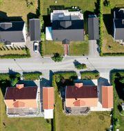 Nyproducerade villor i ett villaområde i tätorten Bro. Arkivbild. Fredrik Sandberg/TT / TT NYHETSBYRÅN