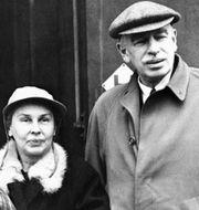 Lord och Lady Keynes, 1945. TT NYHETSBYRÅN