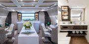 Världens lyxigaste passagerarplan heter Crystal Skye och beskrivs som ett flygande hotell. Greenpoint technologies