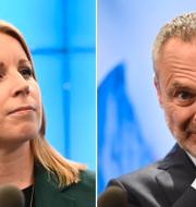 Lööf och Björklund. TT