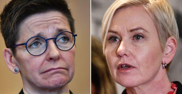 Ann-Sofie Hermansson/Anna Johansson.  TT.