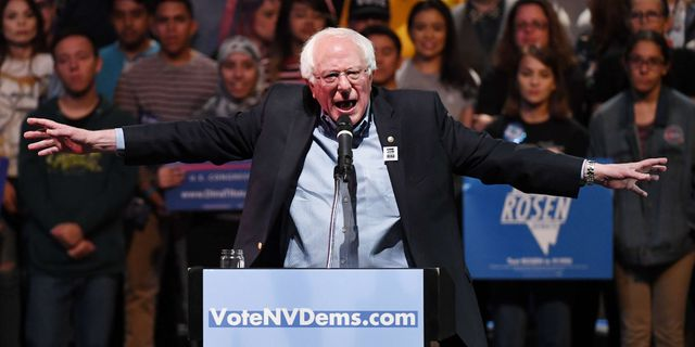 Bernie Sanders.  Ethan Miller / GETTY IMAGES NORTH AMERICA