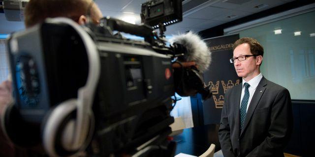 Riksgäldens direktör Hans Lindblad JESSICA GOW / TT / TT NYHETSBYRÅN