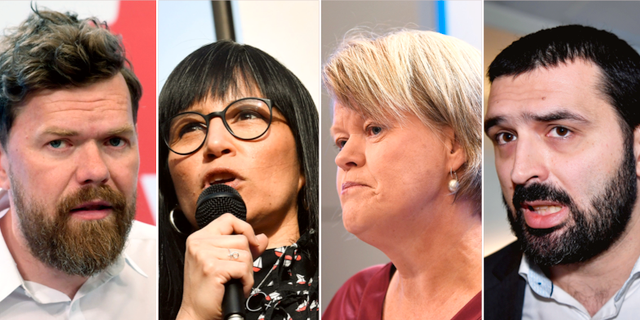 Aron Etzler/ Rossana Dinamarca / Ulla Andersson / Ali Esbati. TT