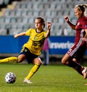 Johanna Rytting Kaneryd och Julia Zigiotti Olme. TT