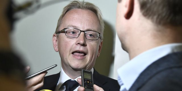 Fredrik Olovsson (S). Claudio Bresciani/TT / TT NYHETSBYRÅN