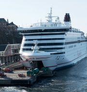 Kryssningen tog plats på Viking Lines Finlandsfärja Cinderella. FREDRIK SANDBERG / TT / TT NYHETSBYRÅN