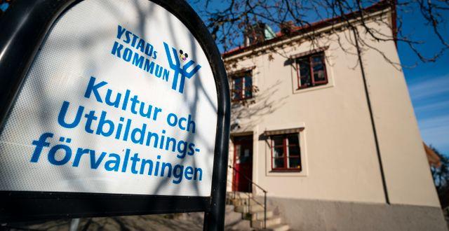Ystads kommun.  Johan Nilsson/TT / TT NYHETSBYRÅN