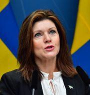 Arbetsmarknadsminister Eva Nordmark. Jonas Ekströmer/TT / TT NYHETSBYRÅN