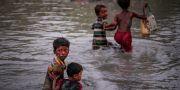 Barn som flytt till lägret Cox Bazar i Bangladesh. Arkivbild. Adnan Abidi / TT NYHETSBYRÅN