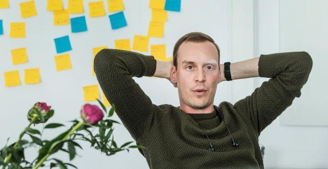 Arkivbild: Johannes Schildt, grundare och vd för Kry.  Tomas Oneborg/SvD/TT / TT NYHETSBYRÅN
