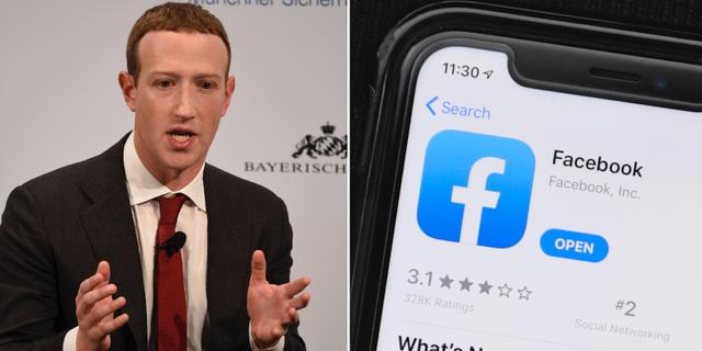 Facebookgrundaren Mark Zuckerberg. TT