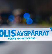 Polisens avspärrningsband/Illustrationsbild Johan Nilsson/TT / TT NYHETSBYRÅN