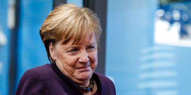 Tysklands förbundskansler Angela Merkel  POOL / TT NYHETSBYRÅN