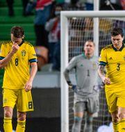 Bild från matchen.  JOEL MARKLUND / BILDBYRÅN
