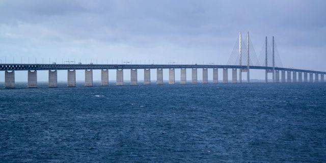 Öresundsbron. Erland Vinberg/TT / TT NYHETSBYRÅN