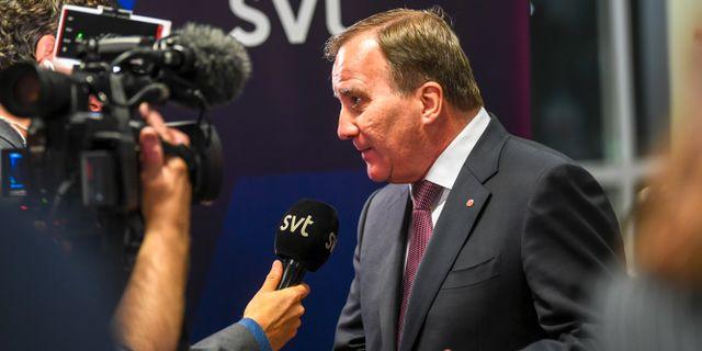Stefan Löfven (S). Fredrik Sandberg/TT / TT NYHETSBYRÅN