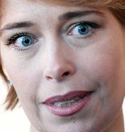 Annika Strandhäll, socialförsäkringsminister (S).  Stina Stjernkvist/TT / TT NYHETSBYRÅN