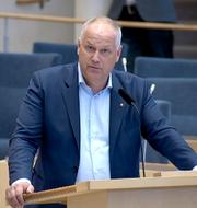 Jonas Sjöstedt. SVT