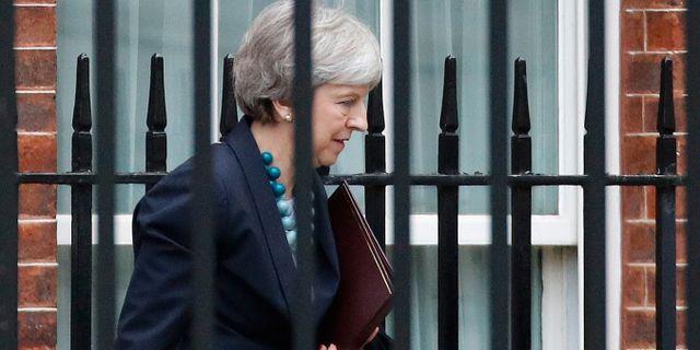 Theresa May. PHIL NOBLE / TT NYHETSBYRÅN