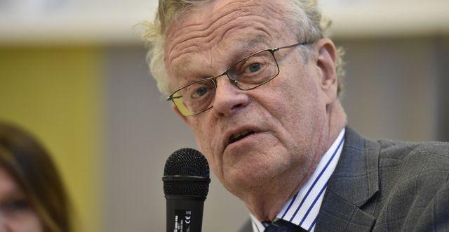 Björn Eriksson, Kontantupprorets ordförande. Noella Johansson / TT NYHETSBYRÅN