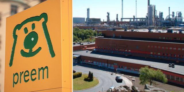 Arkivbild: Preems raffinaderi i Lysekil. TT, Preem.