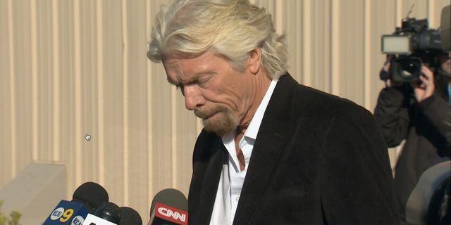 Arkivbild: Richard Branson.  Scott Fain / TT NYHETSBYRÅN/ NTB Scanpix