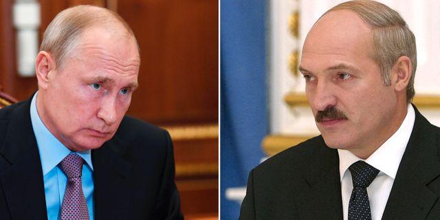 Vladimir Putin. Aleksandr Lukasjenko. TT